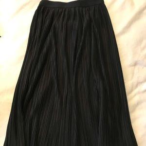 Apt9 midi black skirt